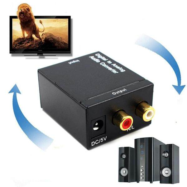 Bảng giá Optical Coaxial Toslink Digital to Analog Audio Converter Adapter RCA L/R 3.5mm Phong Vũ