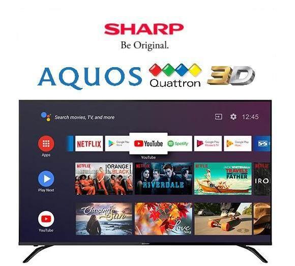 Sharp 70-Inch 4K Ultra HD Android TV 4TC70AL1X