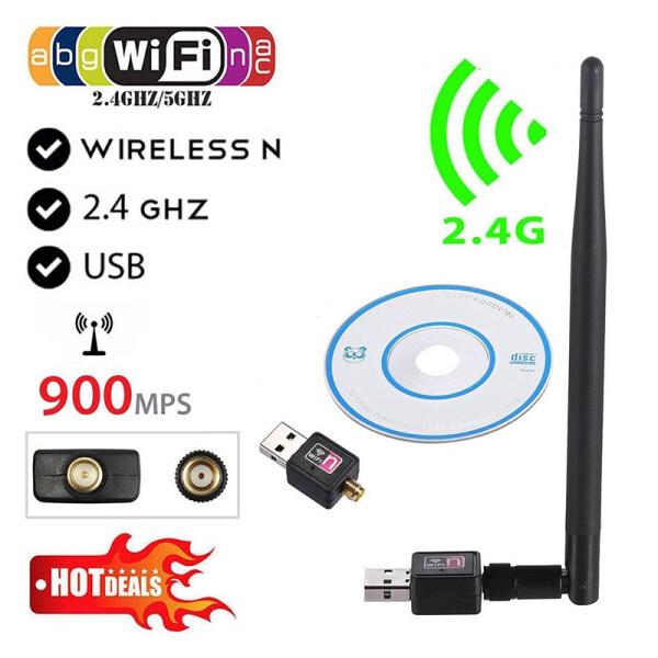 Bảng giá Bộ Chuyển Đổi USB WiFi Không Dây Suhuo 900Mbps, Thẻ Mạng LAN 802.11b/g/n Có Ăng Ten Phong Vũ