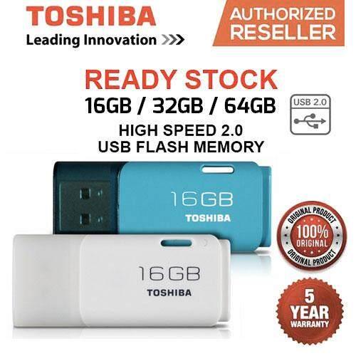 Original / Authentic Toshiba 16GB / 32GB / 64GB USB 2.0 Trans Memory Hayabusa Stylish & Compact USB Flash Drive / Thumb Drive / Pen Drive   Lazada