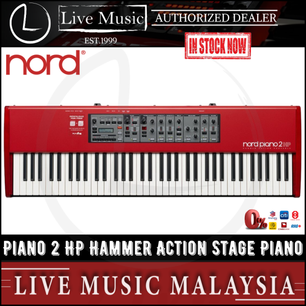 Nord Piano 2 HP Hammer Action Portable Stage Piano Malaysia