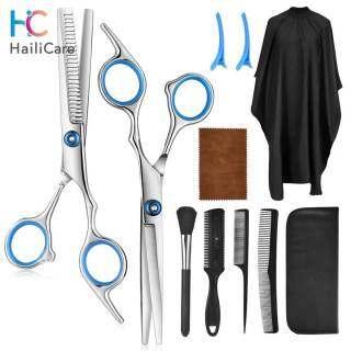 Hailicare Bộ Làm Tóc Chuyên Nghiệp, Lược Cắt Tóc Đuôi Tóc, Áo Choàng Cắt Tóc Lược Cắt Tóc Dụng tông đơ cắt tóc loại tốt Cụ Làm Tóc thumbnail
