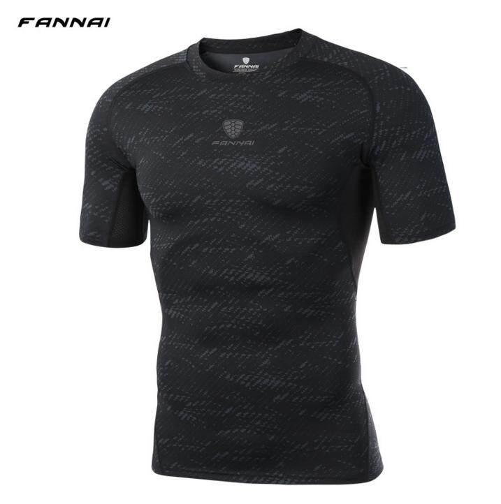 Pro Pakaian Olahraga Celana Ketat Olahraga Peregangan Cepat Kering Lengan Pendek T-Shirt Basket Menjalankan Jas Latihan By Sdgsdg Dds.