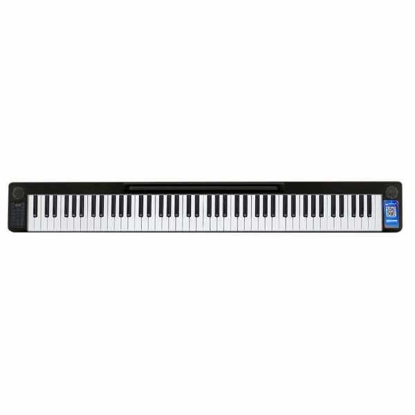 Portable 88 Keys Splicing Piano Digital Piano Multifunctional Electronic Keyboard Piano for Piano Student Musical Instrument (Black) Malaysia