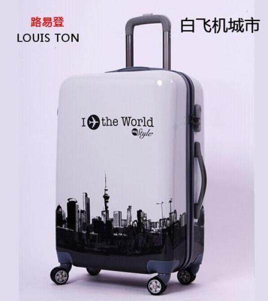 Luggage SetsCartoon suitcase male 20 inch trolley case universal wheel boarding female personality suitcase tide machine