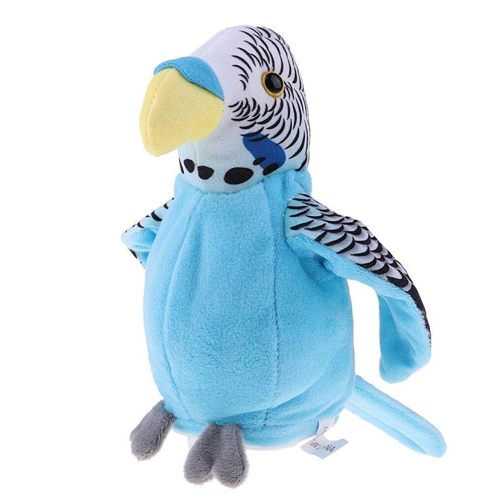 Stuffed Animals & Plush Smart Beautiful Talking Green Parrot Repeats Bird Voice Sound Recorder Toy