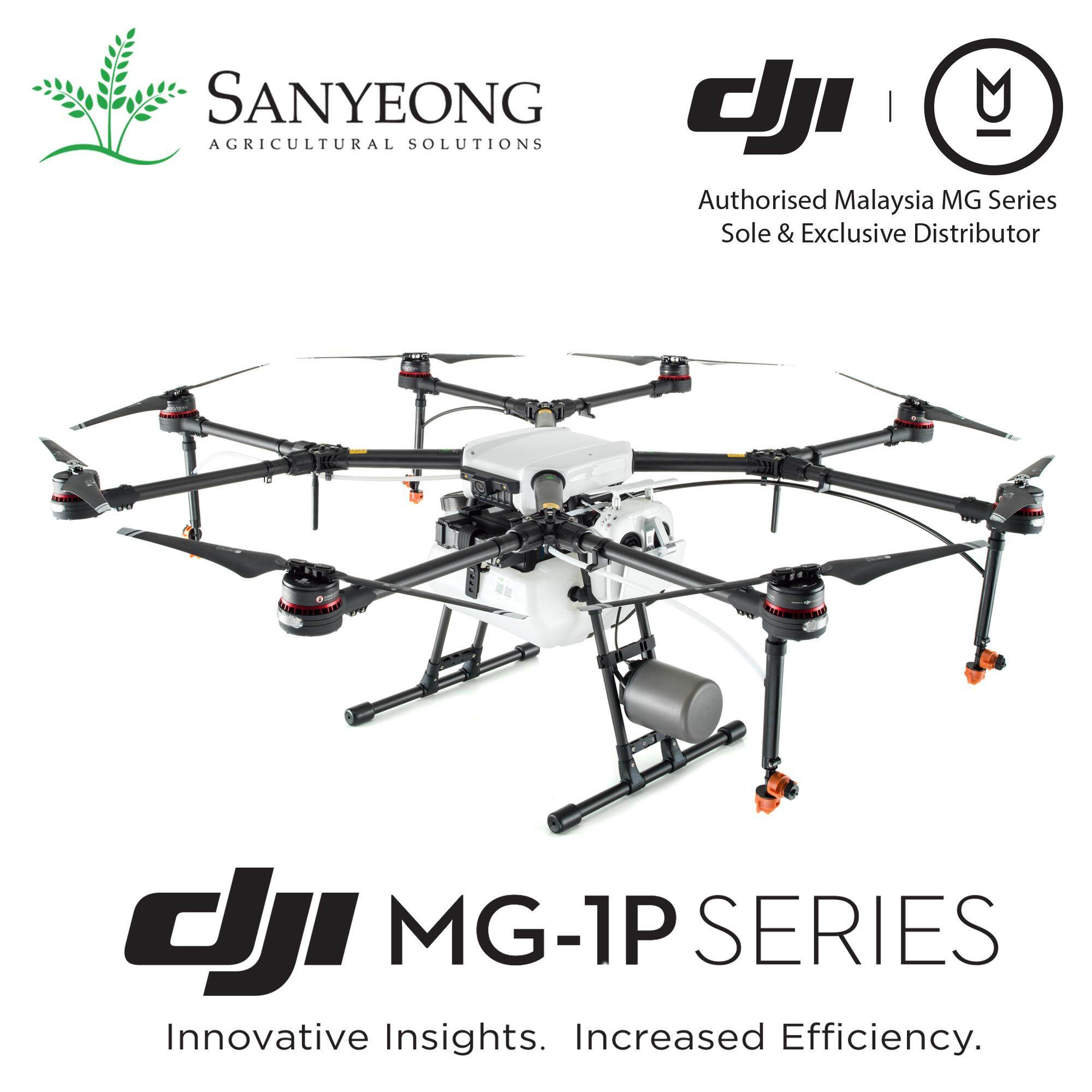 Dji Mg-1p Agriculture Spraying Drone (1 Year Dji Official Warranty) By Sanyeong Agricultural Solutions Sdn Bhd.
