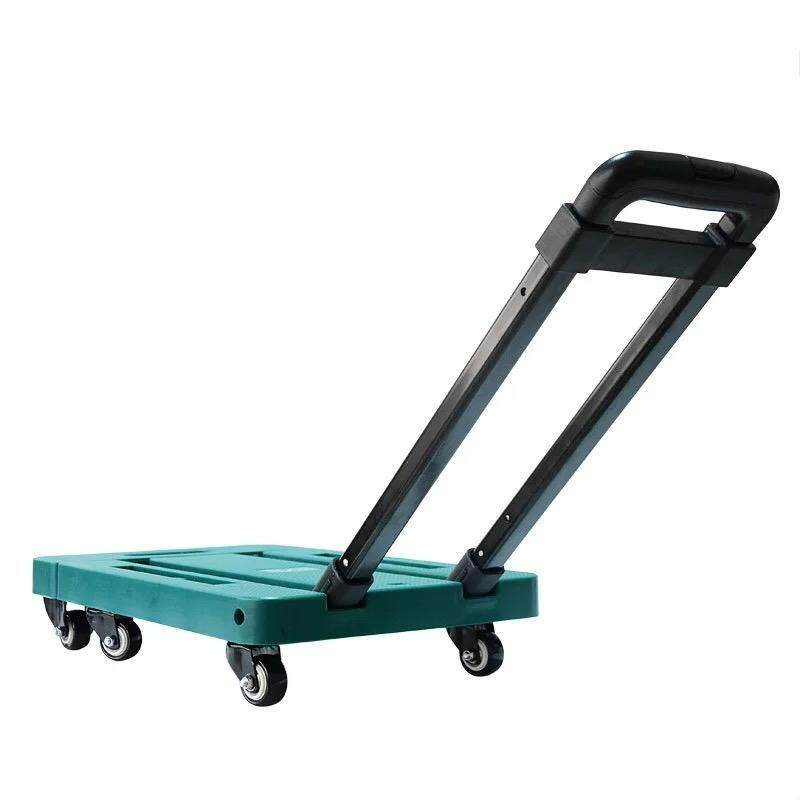 High Quality 150kg Foldable Platform Hand Truck Trolley Kerusi Tolak Bull Courier Business Home Used