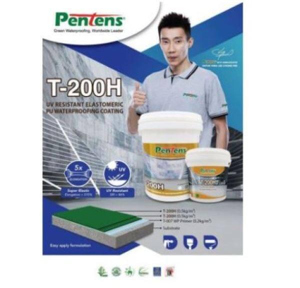 PENTENS T-200H 4.5KG WATER PROOFING UV RESISTANT ELASTOMERIC PU WATERPROOFING COATING PENTENS