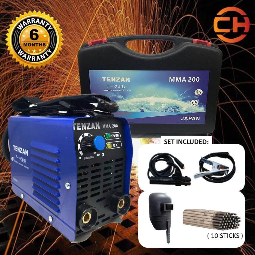 TENZAN MMA 200 Inverter DC MMA Welding Machine (6 MONTH WARRANTY)