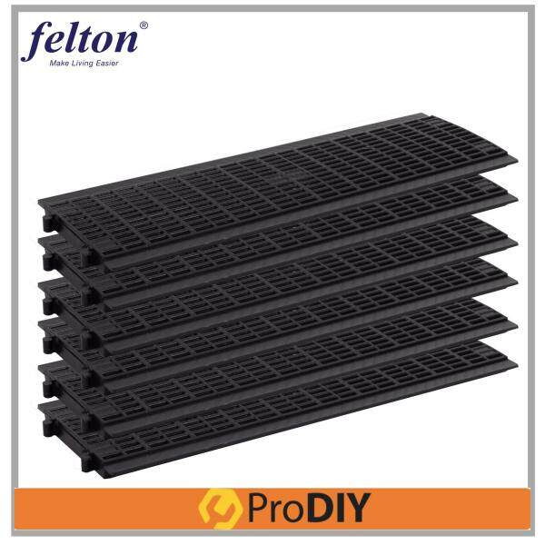 "FELTON Heavy Duty Drain Cover 8.5""D x 29""W (FDR 390) x 6 Pieces"