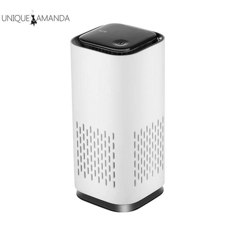 Portable USB Air Purifier Air Freshener Car Fresh Air Negative Ion Odor Removal Home Appliances Singapore