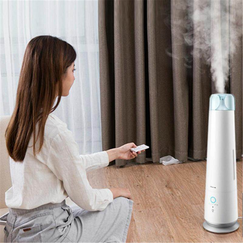 4.5L 30W Bear Ultrasonic Air Humidifier Aroma Diffuser Purifier Home + Remote Singapore
