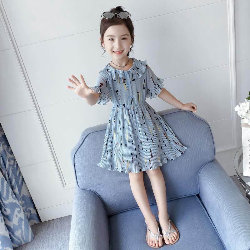 Giá bán Đầm bé gái Mùa Hè Mới Trẻ Em Mùa Hè Voan Đầm trẻ em Váy Bé Gái Công Chúa Nước Ngoài Đầm Trẻ Em Quần Áo