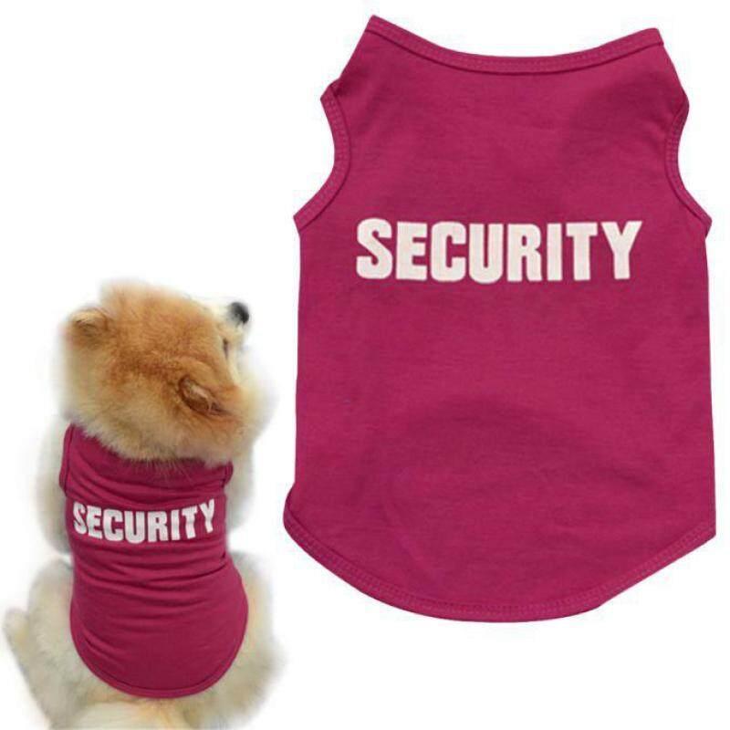 Miễn Phí Vận Chuyển Thời Trang Mới Mùa Hè Dễ Thương Dog Pet Vest Puppy In Cotton T Áo Sơ Mi