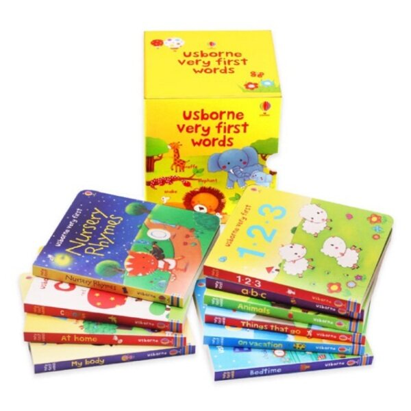 Ready stock 10in1 Usborne Very First Words Usborne Very First Words 10 books Malaysia