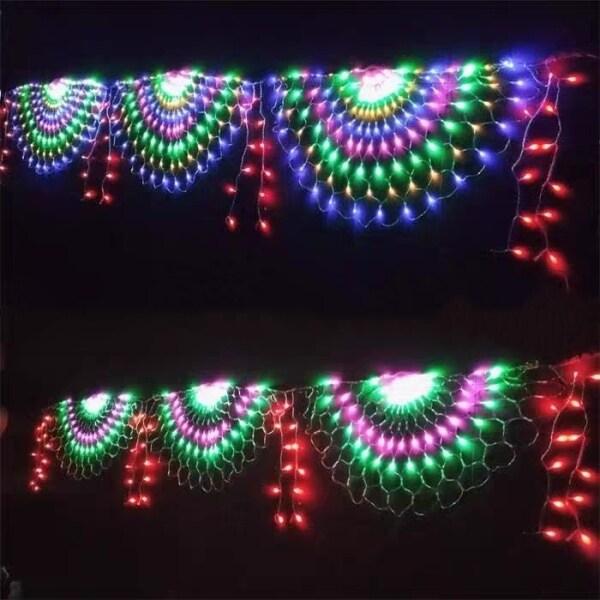 Đèn Led Đèn Con Công Đèn Trang Trí Đèn Giáng Sinh Đèn