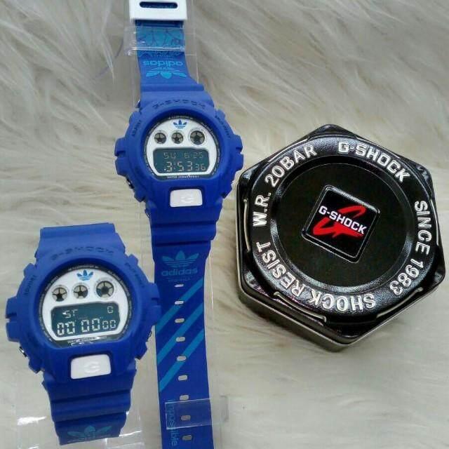 Casio_G_Shock_DW6900 Adidas_CopiOri (Cermin Kaca) Malaysia