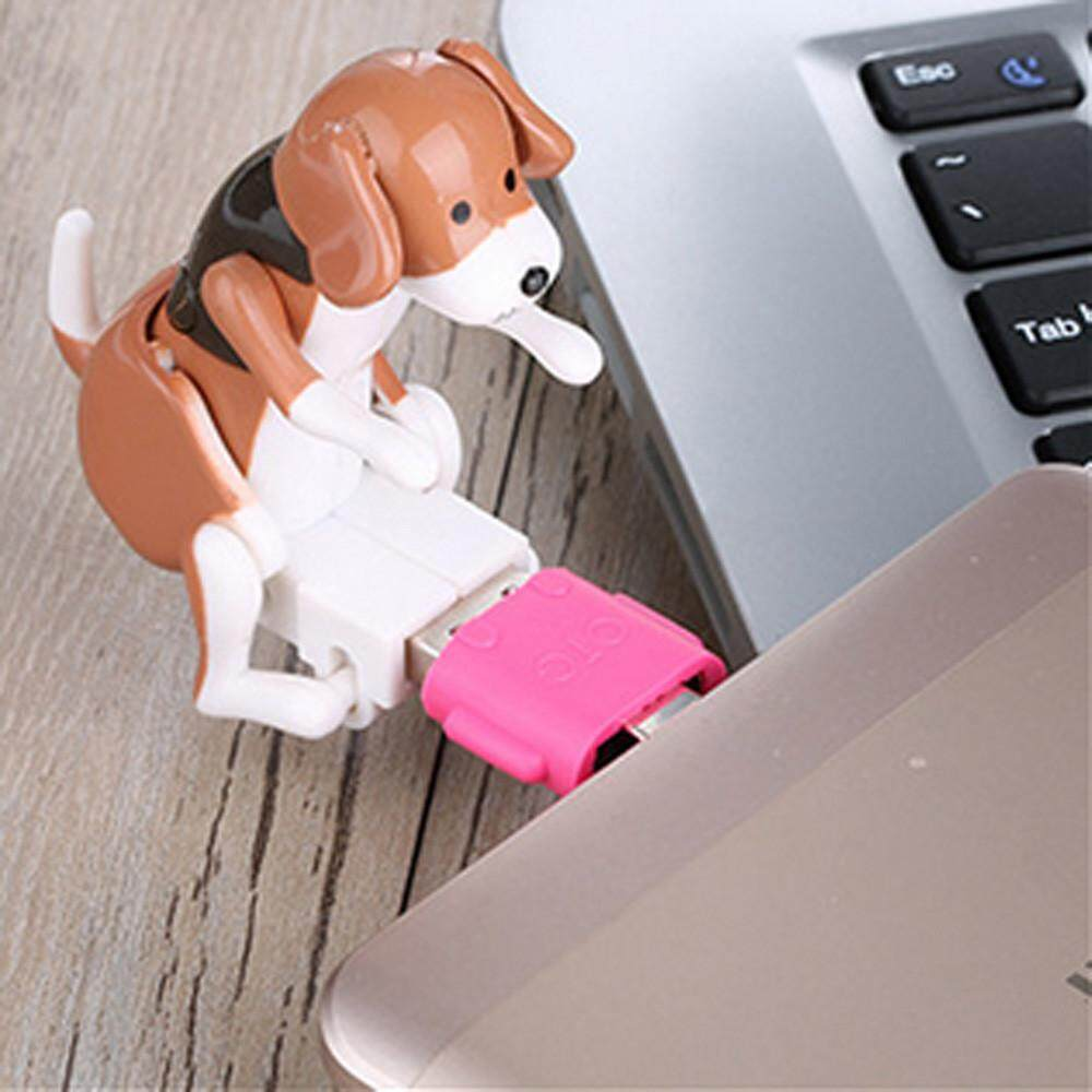 (Ready stock)QIGUI MALL COD Local Funny Cute USB Pet Humping Dog Toy Relief Stress Christmas Gift LOT Kids Toys
