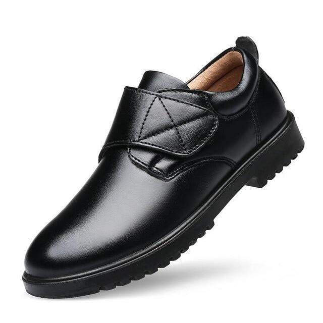Giày Tây Bé Trai 2020 Mùa Xuân Trẻ Em Giày Đi Học Cho Bé Trai Phong Cách Anh Quốc Trẻ Em Da Thật Giày Biểu Diễn Piano Đám Cưới