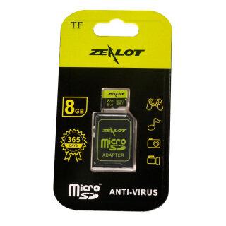 Thẻ Nhớ Zealot TF 8GB 16GB 64GB 32GB Class 10 Chống Nước Cho Điện Thoại - INTL thumbnail