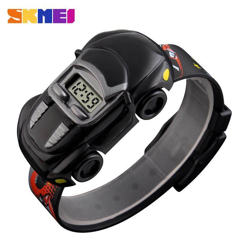 SKMEI Kids Student Watch Car Children Watches Boys Girls Clock Child Digital Wristwatch Electronic Wrist Watch For Boy Girl Malaysia