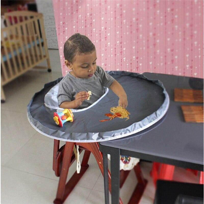 Melindungi Bayi Makan untuk Mencegah Bayi Membuang Hal-hal Tahan Air Bahan Kain untuk Bantal Kursi Makan Kursi Booster Bayi Mat