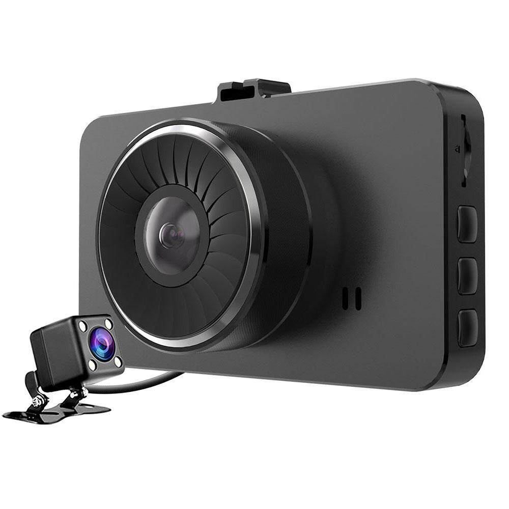 Goodgreat Car Dash Cam, 4 Ips Dual Lens Fhd 1080p Dashboard Camera Wide Angle Front Car Camera Video Recorder And Rearview Backup Camera With Parking Monitor G-Sensor Loop Recording Night Vision By Good&great.