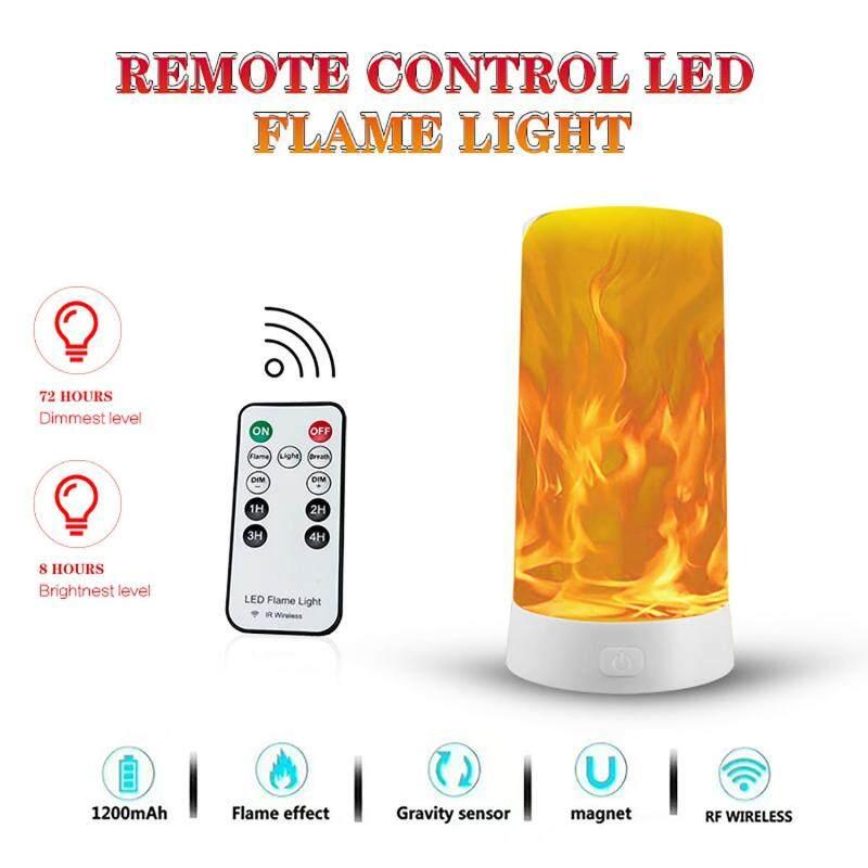Bảng giá Đèn LED Mới Đèn Đêm USB Thông Minh Điều Khiển Từ Xa Đèn Ngủ Di Động Ngọn Lửa Đèn Phong Vũ