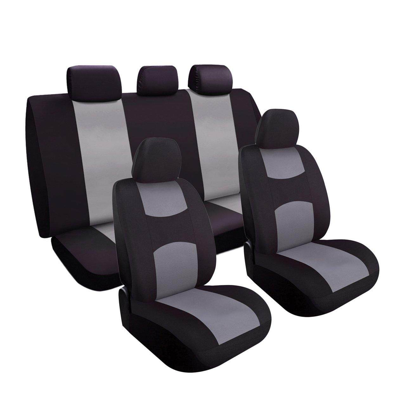 Giá CELE Than Bọc Ghế Xe Ô Tô Bộ Phù Hợp với Sedan SUV Xe Tải Chia Băng Ghế Dự Bị