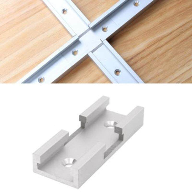 ❥Gracekarin Online Aluminum alloy T - track cross joint parts woodworking tool accessories