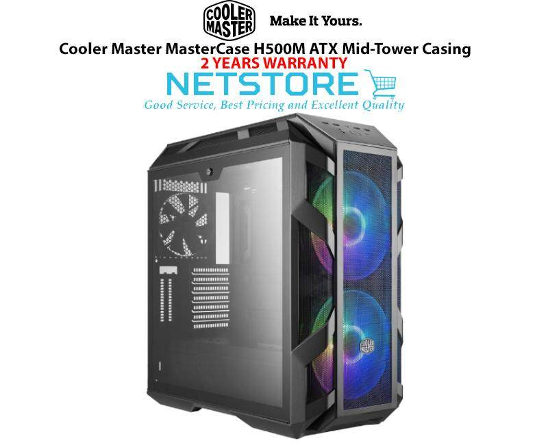 Cooler Master MasterCase H500M ATX Mid-Tower Gaming Casing MCM-H500M-IHNN-S00 Malaysia