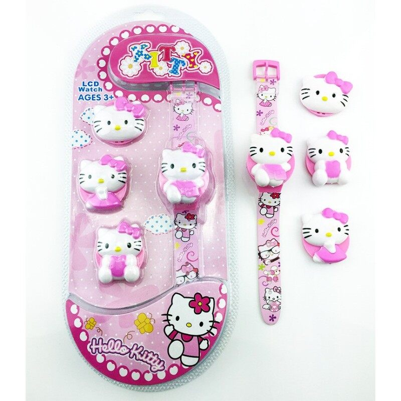 Kids Watch Ready stock Hello Kitty Collection 3+ Ages Malaysia