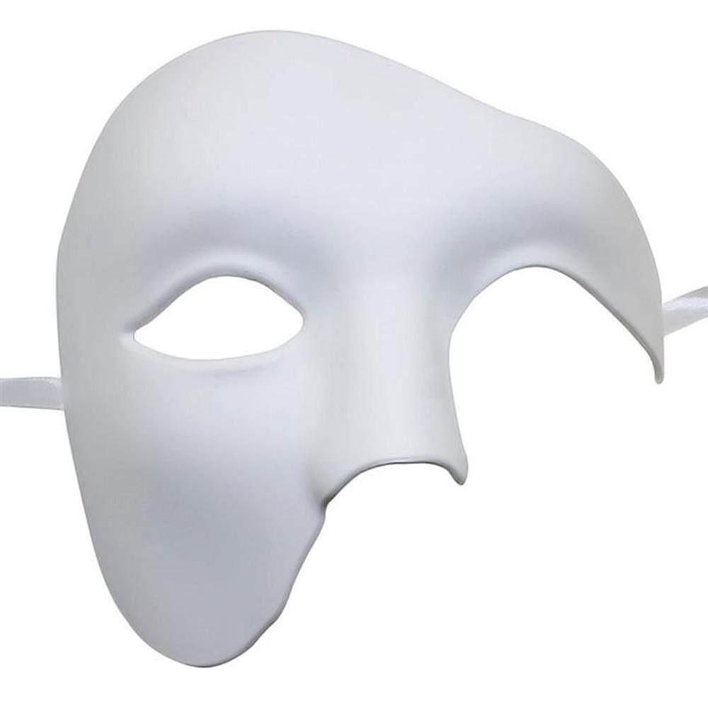 BluShine Men's Party Opera Phantom Style Props Halloween Masquerade Mask