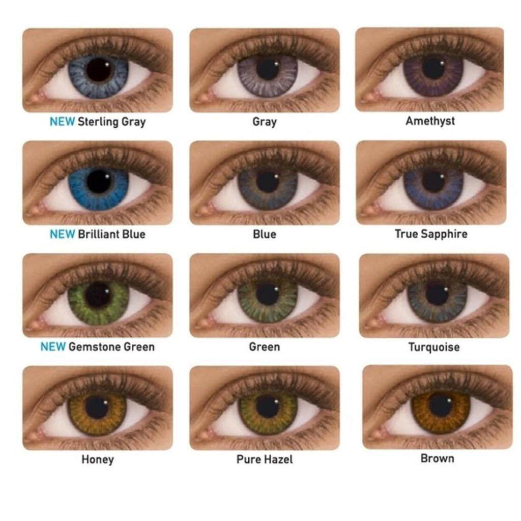 1 Pair Colorblends 3 tones Natural Enlarge Eyes Contact lens Eye Cosmetic