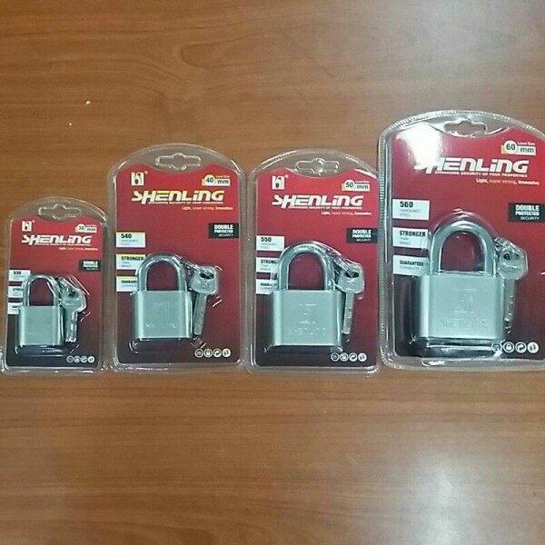 [READY STOCK]  Security Padlock / Silver Lock / Mangga Kunci / 锁头 30mm 40mm 50mm 60mm