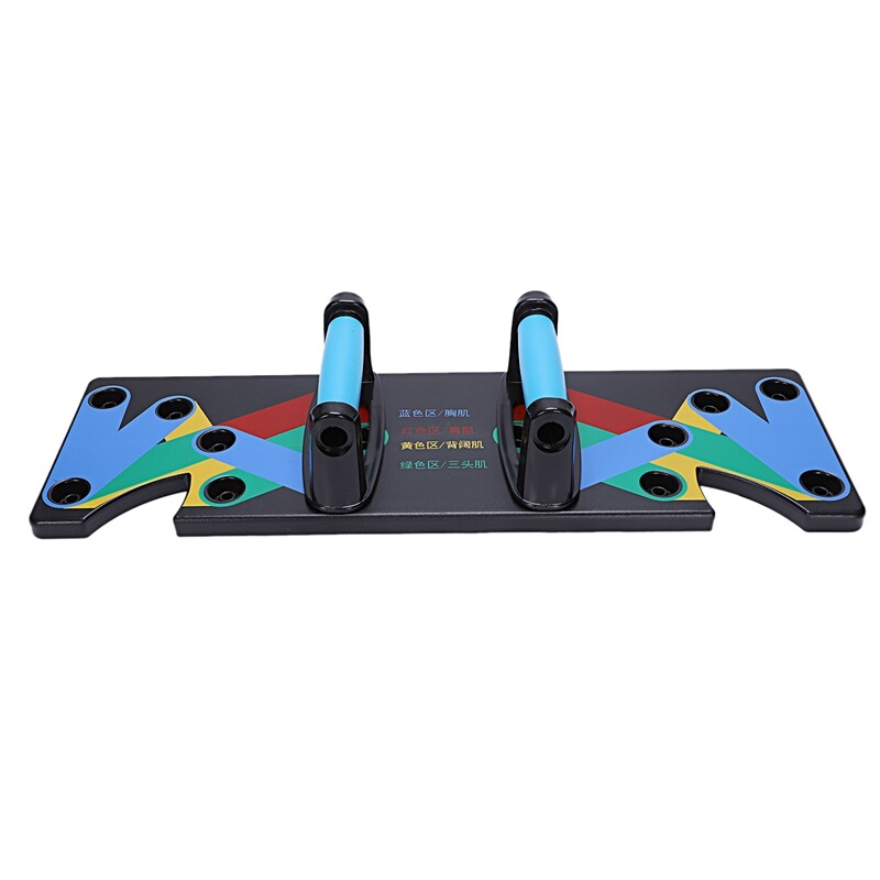 Bảng giá Push Up Rack Board 9 System Men Women Comprehensive Fitness Exercise Workout Push-Up Stands Body Building Training Gym