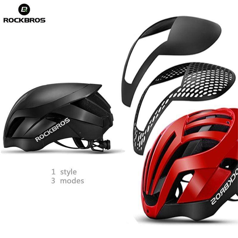 RockBros Cycling Helmet 57cm-62cm Integrally Helmet 3 in 1 with Rain Cover