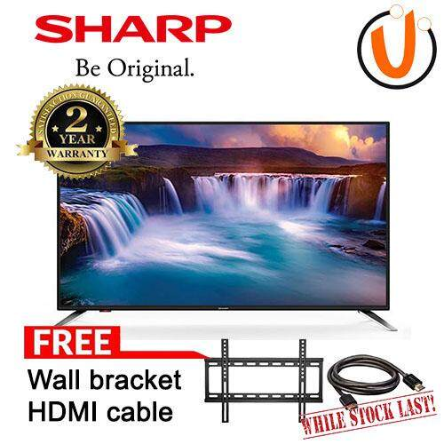 SHARP 45 INCH FULL HD TVs 2TC45AD1X (FREE WALL BRACKET AND HDMI CABLE)