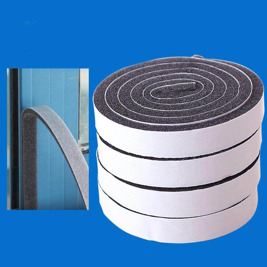 Top Deals Self Adhesive Doors and for Windows Foam Seal Strip Soundproofing Collision Avoidance Rubber Seal Collision