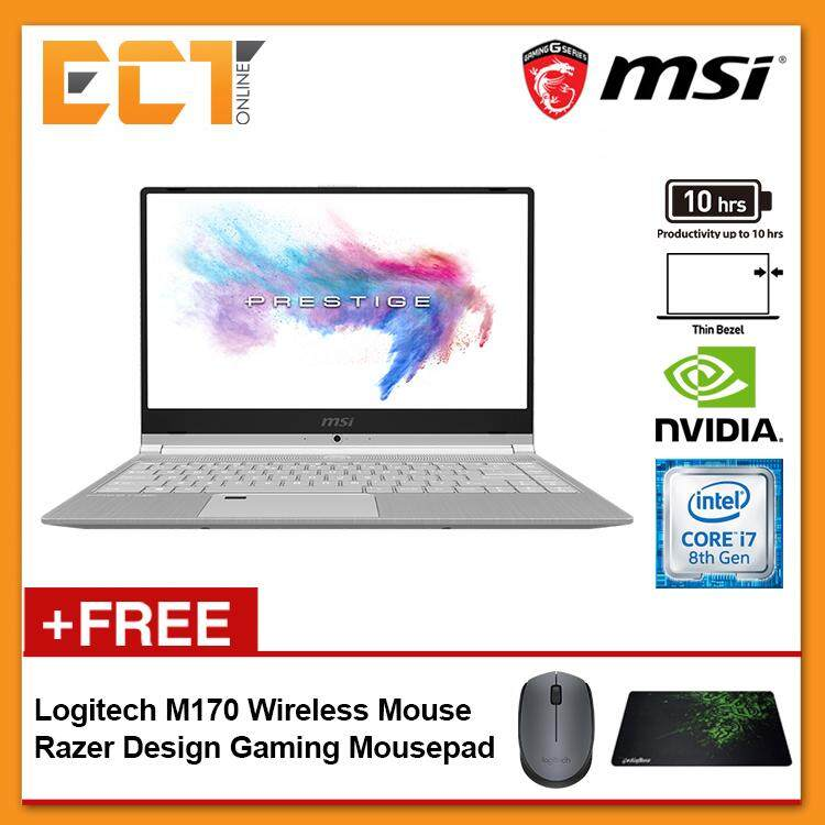 MSI Modern PS42 8RB-431 Gaming Laptop (i7-8550U 4.00GHz,256GB,16GB,NV MX150-2G,14 FHD,W10) Malaysia
