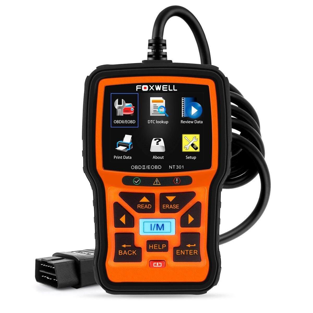 """OM129 Car Diagnostic Scanner Tool 2.8/"""" LCD Color Screen for OBD2//EOBD Scanner with Battery Test Blue AUTOPHIX OBD2 Reader"""