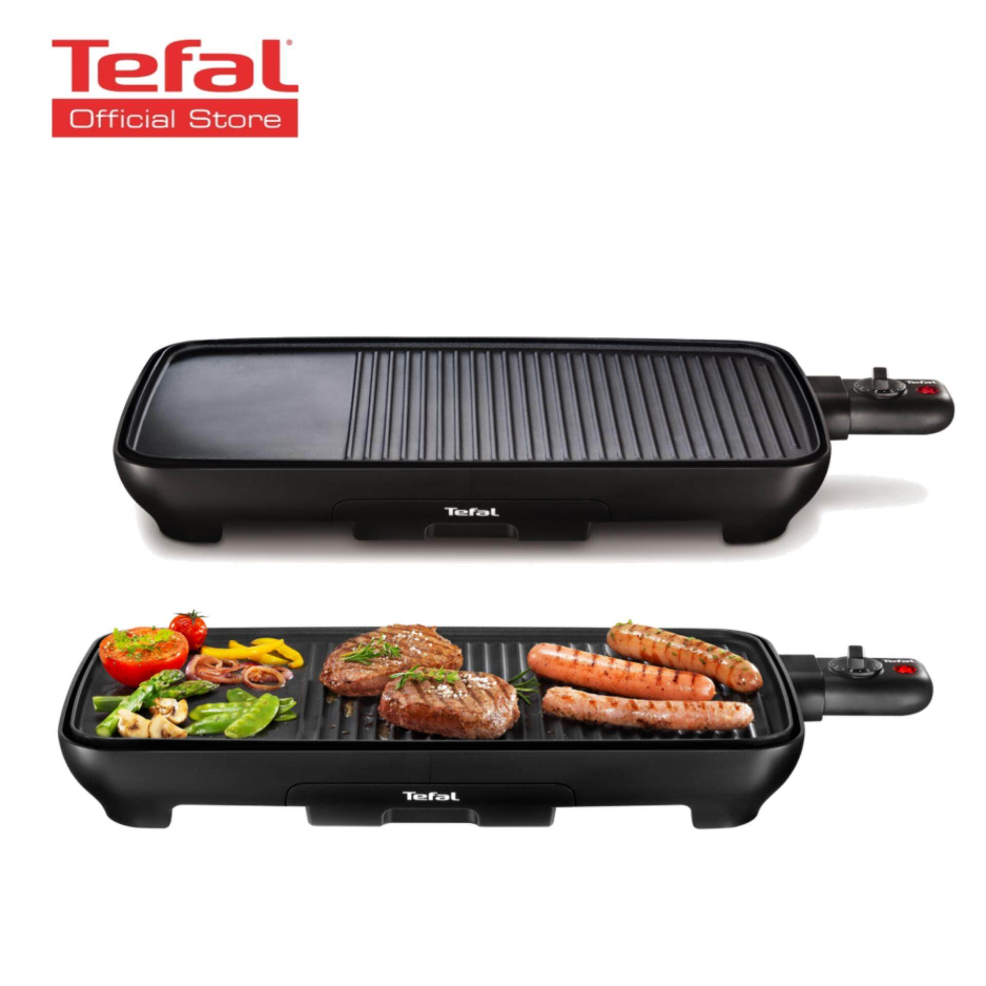 Tefal Plancha Malaga Successor Table Top Barbeque Grill (tg3918) By Tefal Official Store