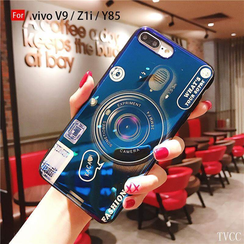 Casing Ponsel untuk Vivo Y55 Y53 Y66 V5 Lite Y67 V5 Y71 Y75 V7 Y79 Y75s V7 Plus Y83 V9 Z1i y85 Y93 Vintage Seri Kamera Sel Cover