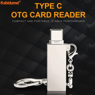 Kebidumei Bộ Chuyển Đổi Đầu Đọc Thẻ Nhớ Micro USB OTG Loại Mini, Cho Máy Tính Máy Tính Xách Tay Thẻ TF thumbnail