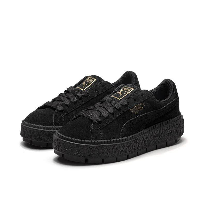 23749ea4 PUMA/Puma Shoppe Women's Shoes Athletic Shoes 2019 Autumn New Style Thick  Bottomed Muffin Suede Casual Board Shoes 365830