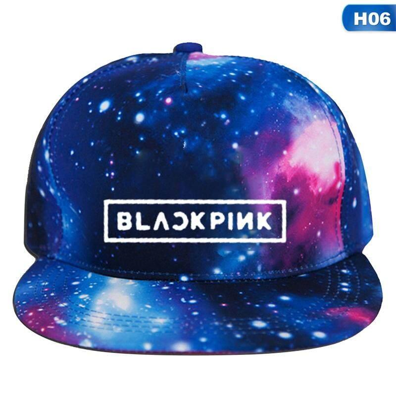 b5206ac2409b55 QIANER BTS New Printing Fashion Cap Hats Adjustable Baseball Cap Sun Hat