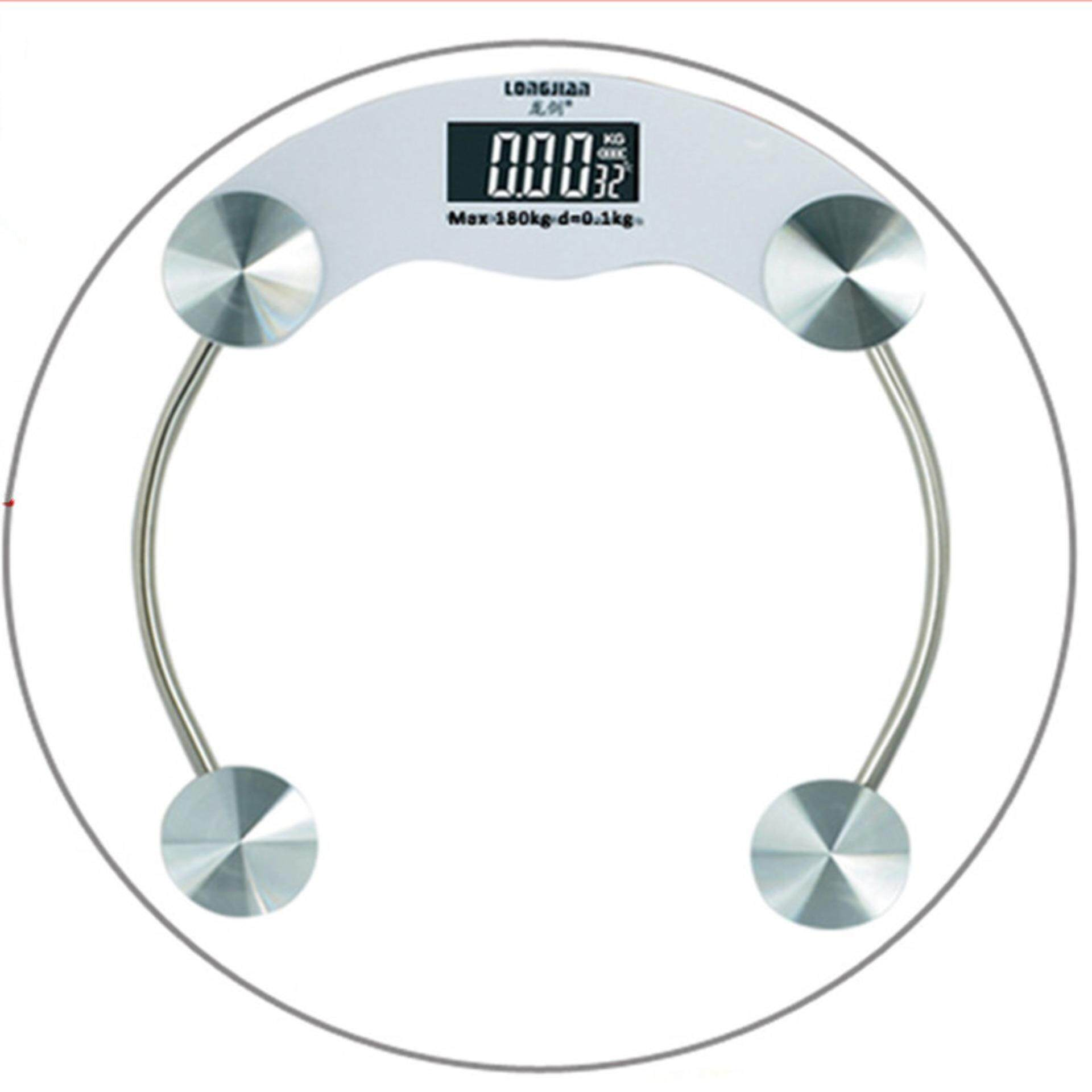 180kg Tempered Glass Electronic Body Weighting Scale Scale Scales Balance Bathroom Weighing Quality Transparency