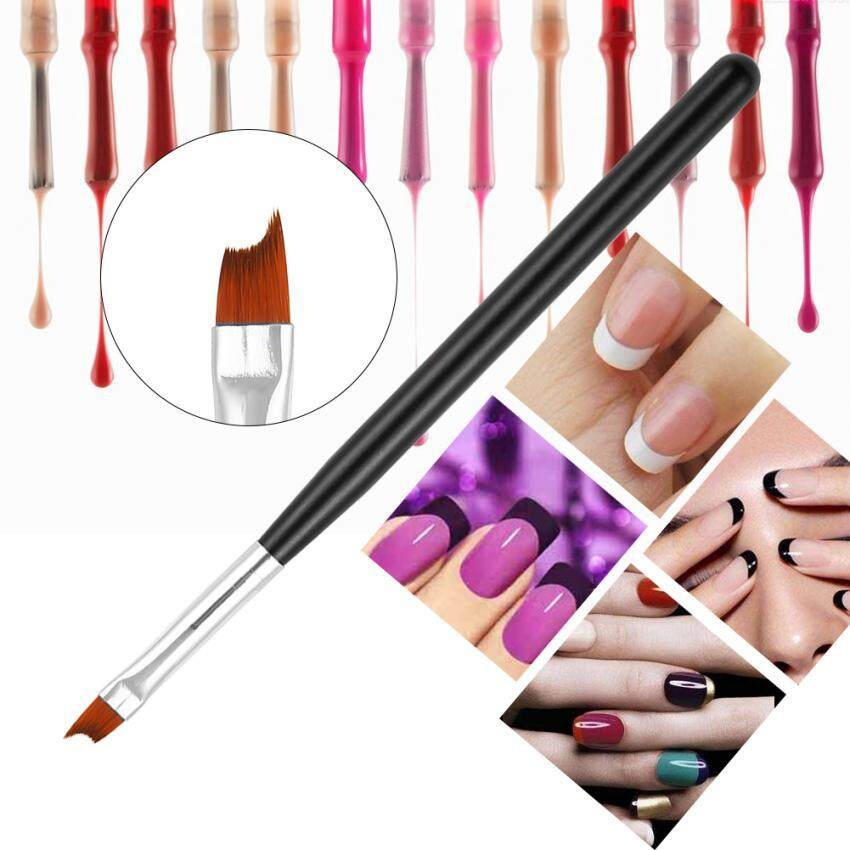 1 Buah Lukisan Akrilik Gambar Manicure Alat Pena Kuas Nail