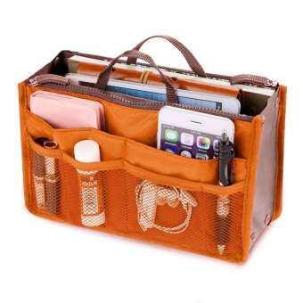 1x ผู้หญิงเลดี้แฟชั่นไนล่อนเครื่องสำอางค์แต่งหน้ากระเป๋าจัดกระเป๋าเก็บกระเป๋า - นานาชาติ